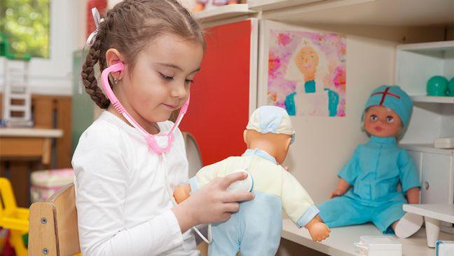 Speelgoed verraadt talent - Klasse: met welk speelgoed kinderen spelen, vertelt waar hun interesses liggen