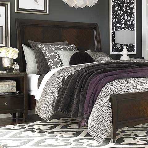 purple black grey bedroom 17 best ideas about eggplant bedroom on 16855