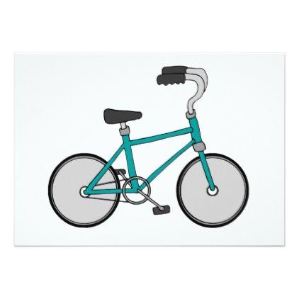 Cool Bicycle Invitations - invitations custom unique diy personalize occasions
