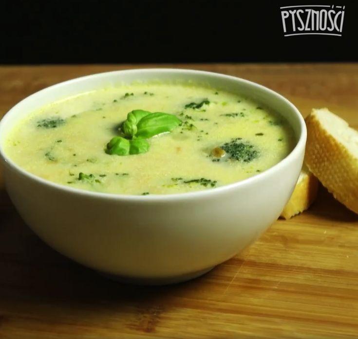 Zupa brokułowa z ziemniakami | Pyszności