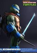 """[DEX-LEONARDO] DreamEX 10.5"""""""" Teenage Mutant Ninja Turtles Leonardo Boxed Figure"""