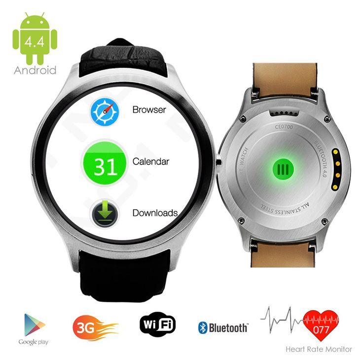 Indigi 3G Smart Watch Cell Phone Android 4.4 WiFi GPS Google PlayStore Unlocked! Smart Watches Unlocked Smartphone. 1.54-inches Android 4.4 OS 3G Smart Watch Phone Wrist Watch + GSM Wireless 3G SmartPhone (Call as mobile phone) with Google Play Store and Capacitive Multi-Touch Screen. GSM Mobile Cell Phone - Support 3G GSM QuadBand: GSM 850/900/1800/1900MHz WCDMA 850/2100MHz|Make and receive calls directly from the watch itself with the built-in MIC and speaker. Powered by MTK6577…