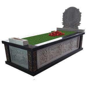 Kabartmalı Mermer - Granit Mezar Taşı Modeli
