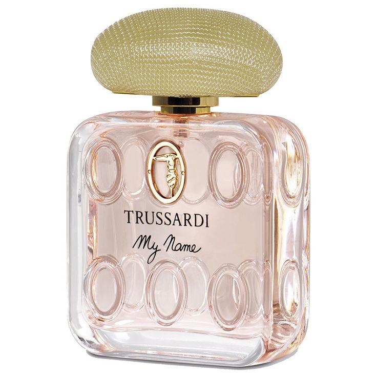Trussardi MY NAME...violetta bianca ed eliotropio,note additive di vaniglia avvolte dal musc e dall'ambroxan.fiorito,muschiato,ambrato