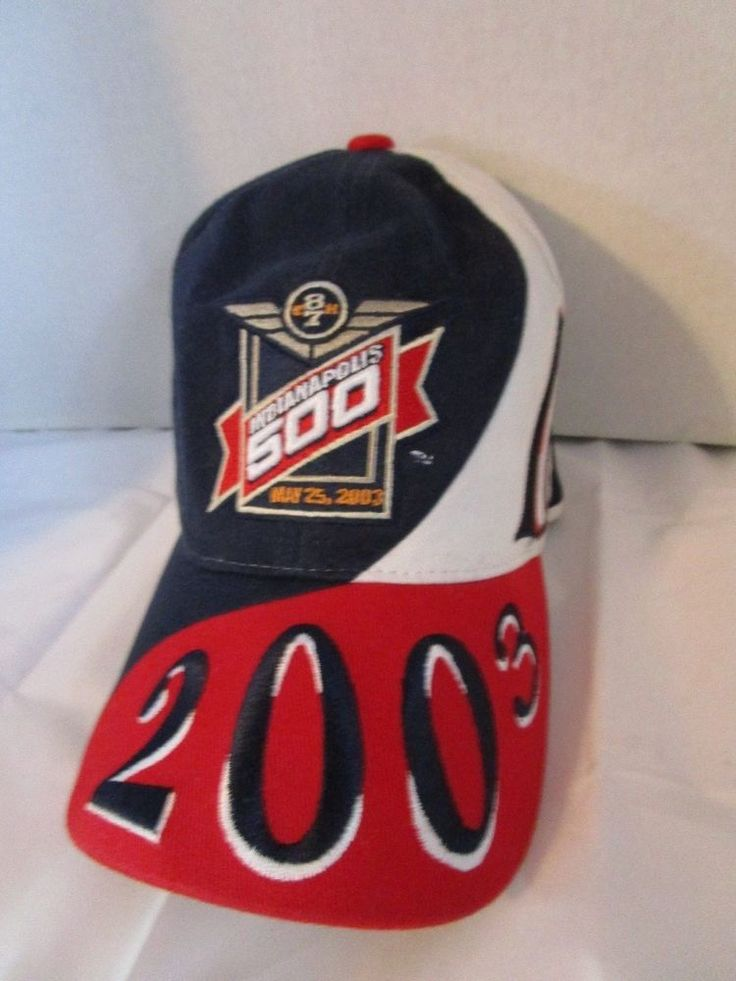 2003 INDIANAPOLIS 500 MOTOR SPEEDWAY 87th Indy Race Official Brand Hat #Officiallylicensedproduct