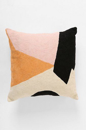 Char-Bea By Ashley G Colorblock Pillow