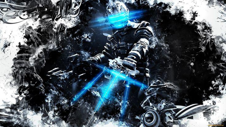 dead, space, видео, игры, броня, лазер