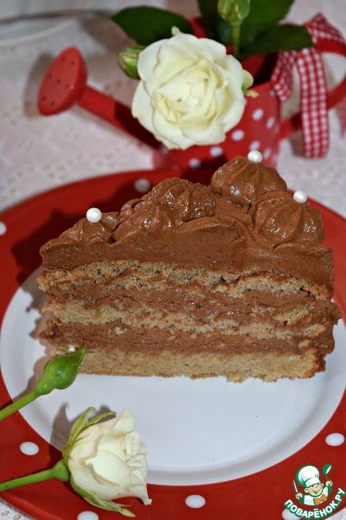 "Торт ""Шокко-Мокко"" - кулинарный рецепт"
