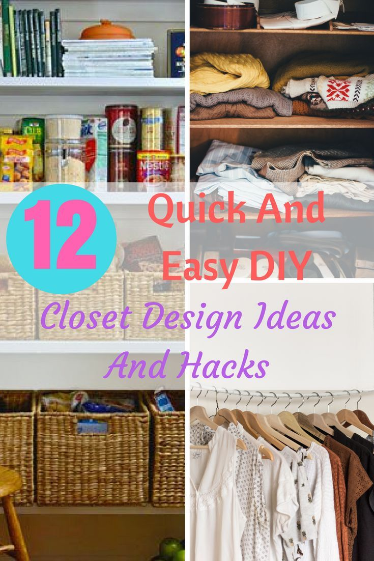 185 best diy home decor images on pinterest home crafts and click here to see 12 amazingly simple diy closet design ideas