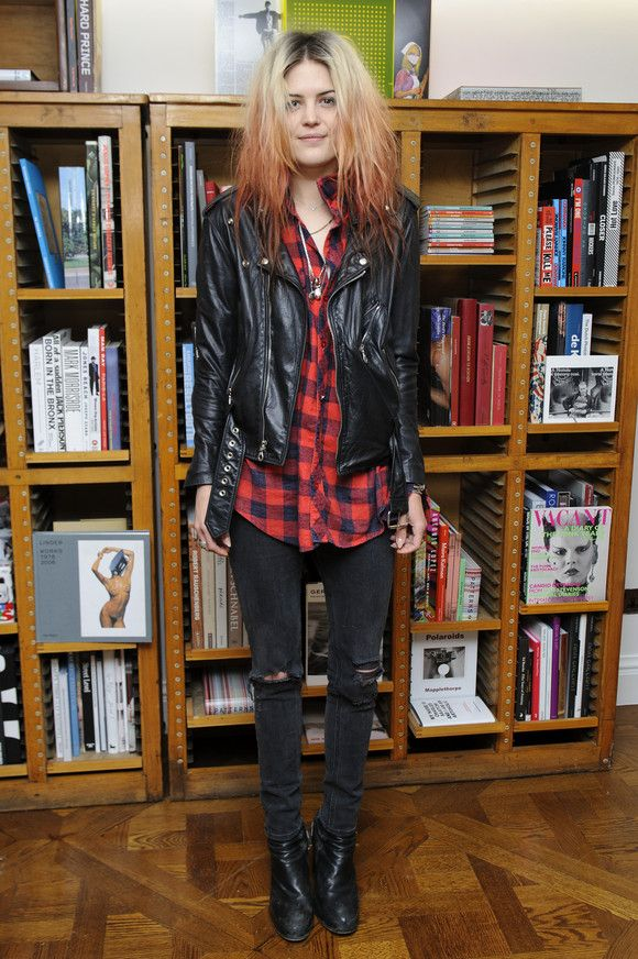 Alison Mosshart at the The Kills Book Signing