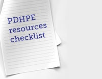Checklist of drug and alcohol resources available for PDHPE students and teachers.