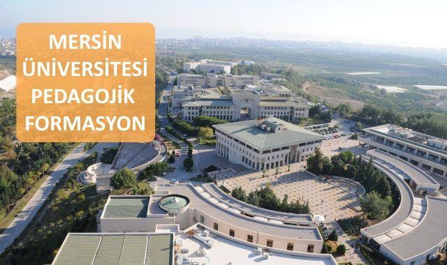 Mersin Üniversitesi Pedagojik Formasyon