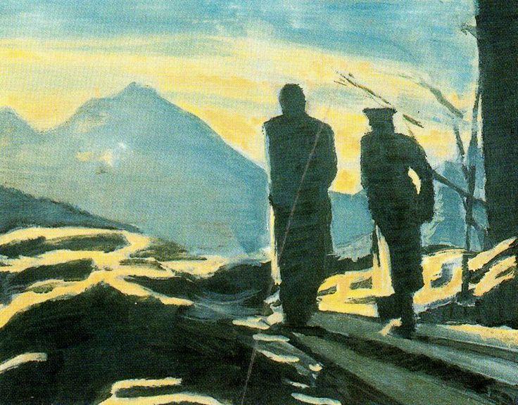 Solitude - Luc Tuymans -
