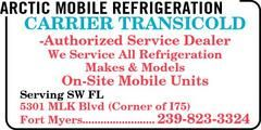 Services: Truck Refrigeration Installation And Repair,  Truck Refrigeration Maintenance Services, Container Cooler Repairs,  Mobile Freezer Repairs,  Transportation Freezer Installations,  Mobile Refrigeration Installations,  Commercial Cooler Maintenance, Commercial Truck Cooling Parts, Truck Ice Machine Repair,Refrigeration System Replacement Services, Trailer Refrigerator And Freezer Maintenance,Custom Work,Estimates,Inspections,Cleaning Services,Design & Layout  In-Home Service.