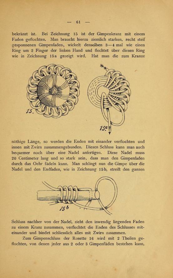 Das Posamentier-Kunstgewerbe. Gründliche Anleit...