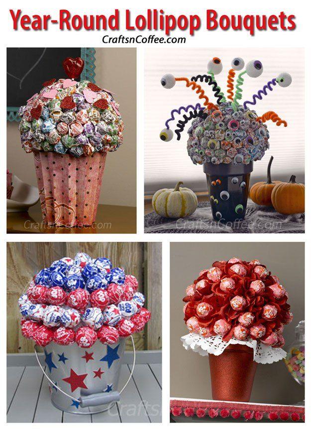 How to make a lollipop sweet tree