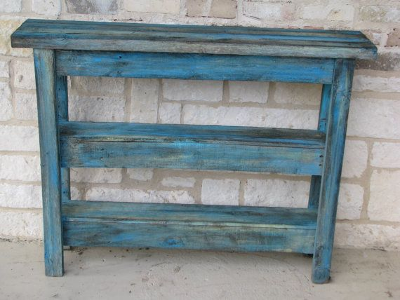 FREE SHIPPINGConsole Table made from by RusticExquisiteDsgn, $299.00
