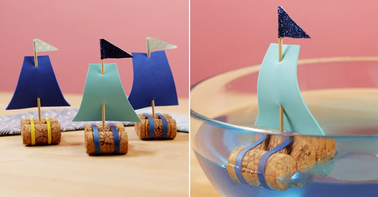 This kid-friendly craft makes the cutest vessels ever seen on dry land — and you probably already have all the supplies.