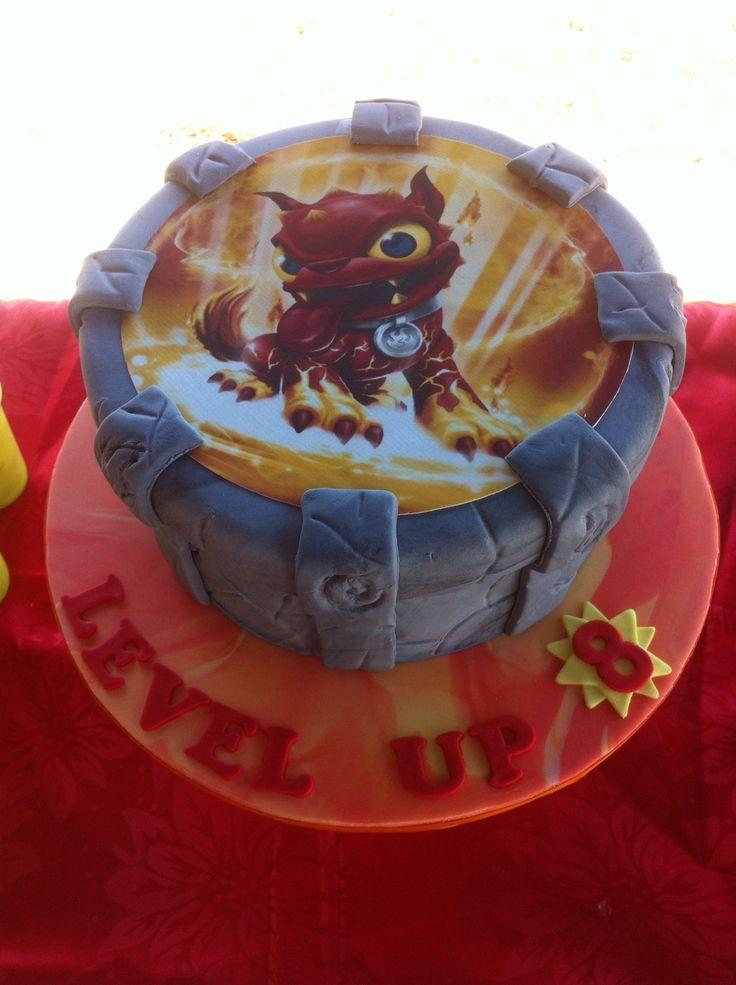 Sky lander bday cake by cakes2crumbs