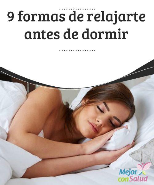 9 formas de #relajarte antes de #dormir  Si nos cuesta conciliar el #sueño es importante que la cama solo la destinemos a dormir, y evitemos el uso de aparatos tecnológicos en ella. Así nuestro cuerpo la relacionará con el #descanso #Curiosidades