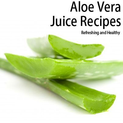 how to make aloe juice at home