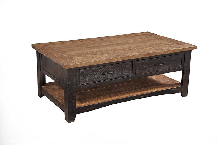 A Rustic Farmhouse Coffee Table Rustic Coffee Tables Coffee Table With Storage Furniture
