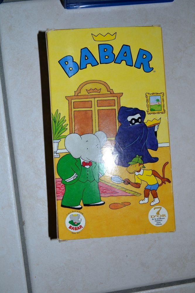 VHS SERIE DESSIN ANIME MANGA BABAR VINTAGE COLLECTION COLLECTIONNEUR