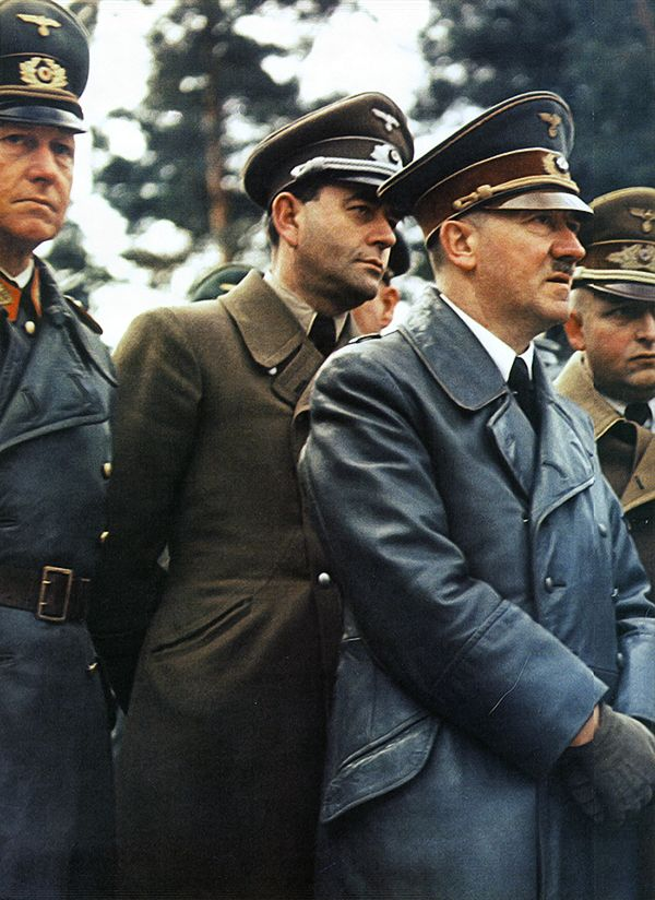 Albert Speer and Adolf Hitler