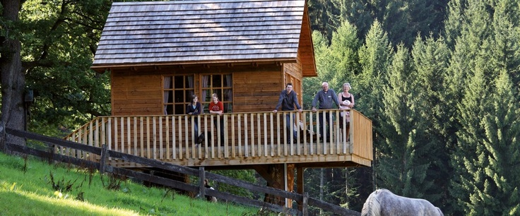 Übernachtung im Baumhaus, Hotel Gut Vorwald in Schmallenberg-Oberkirchen, Sauerland