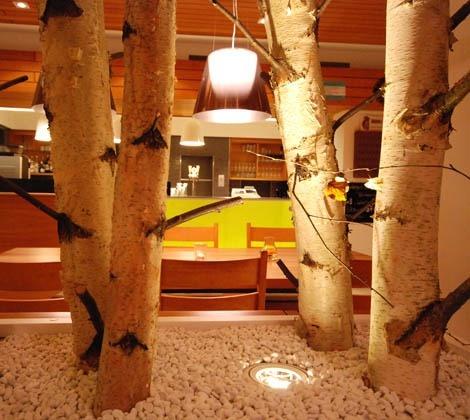 Innenarchitektur Restaurant Birkenhof, Wettingen, Schweiz