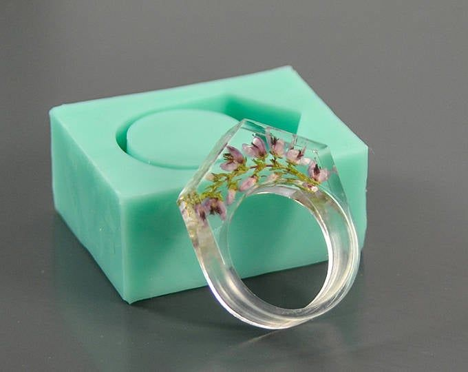 Ring silicone mold (US sizes 6, 7, 8, 9, 10) - Form for