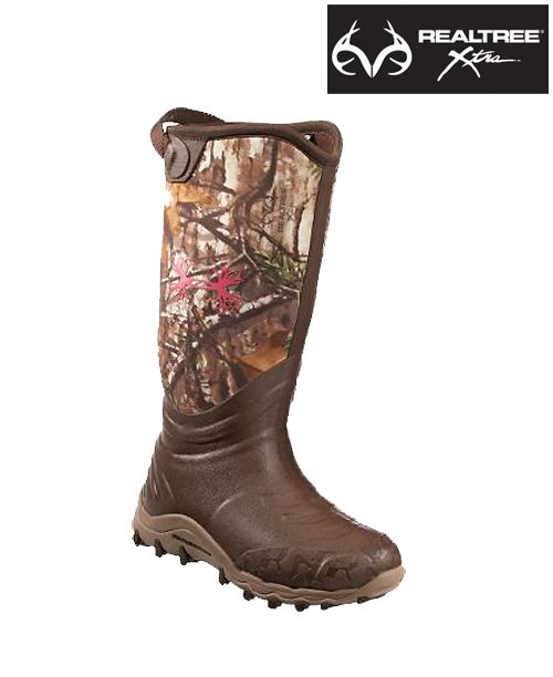"#NEW Under Armour Women's 15"" Rubber Boots in #RealtreeXtra #camoboots"