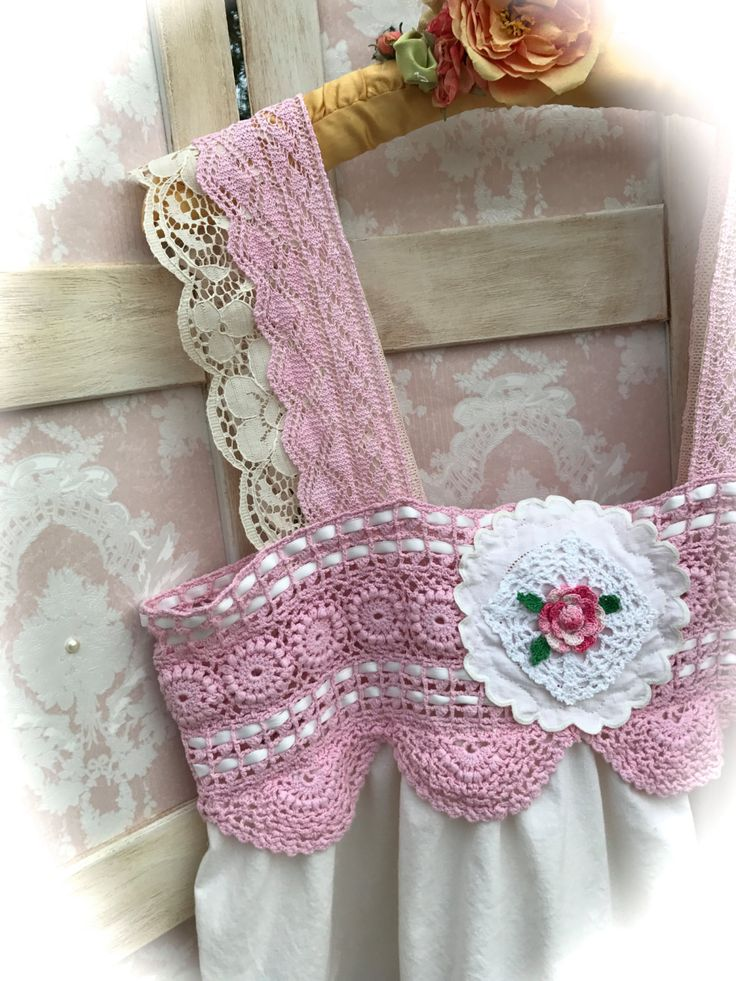 Happily Ever After Pink Cami Top Sweet n Darling  Shabby Chic Sweet Size Large by IzzyRoo on Etsy