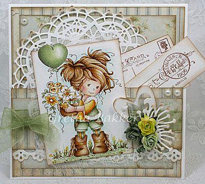 Het kaartenhoekje van Gretha: Whimsy Wee Amy
