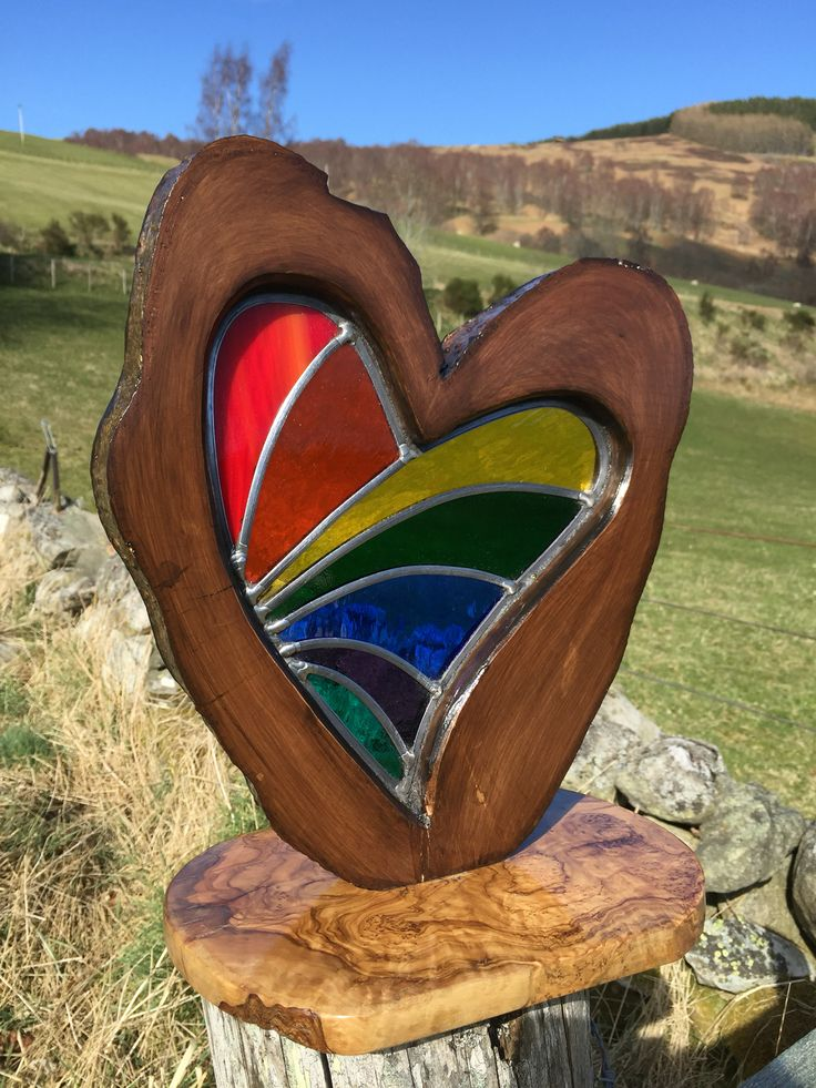 So lucky to find a tree in the shape of a heart .for sale £125.00 (Sold)