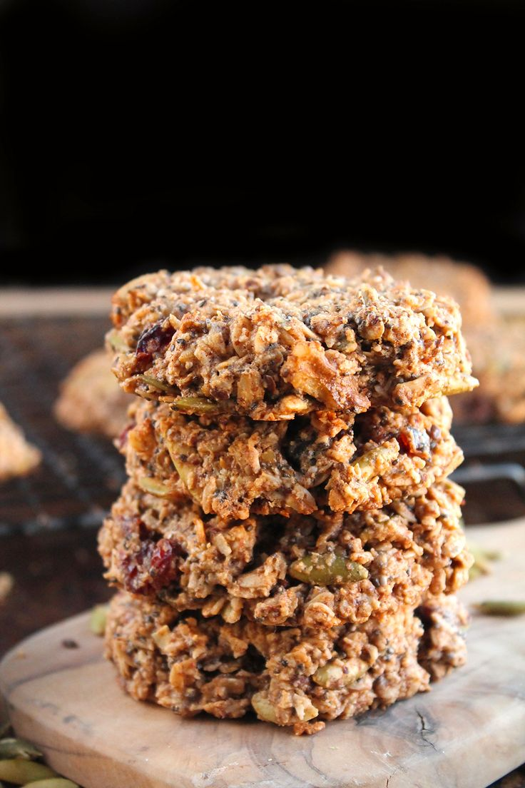Gluten Free Vegan Breakfast Cookies