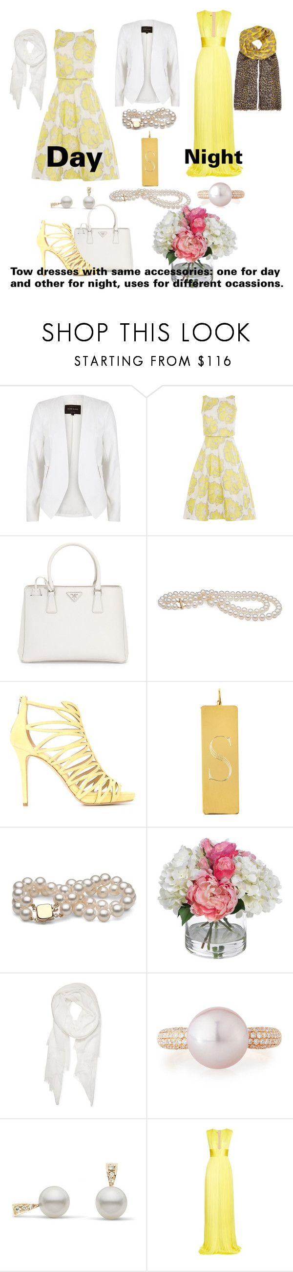 """""""Hijab or not in day or night"""" by surat-iraqea ❤ liked on Polyvore featuring River Island, Prada, Jimmy Choo, Sarah Chloe, Diane James, Calvin Klein, Belpearl, Maria Lucia Hohan and Mercy Delta"""