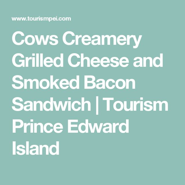 Cows Creamery Grilled Cheese and Smoked Bacon Sandwich |A fun and easy take on a classic. My kids and husband love these!