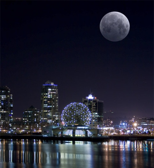 Vancouver at night.I want to go see this place one day.Please check out my website thanks. www.photopix.co.nz