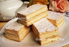 Ореховый крем для бисквитного торта