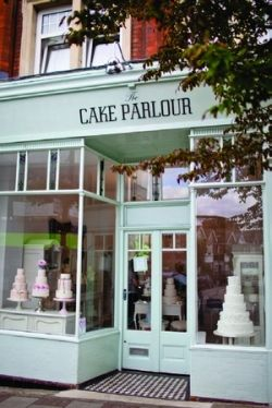 HAPPY PLACE CAKE PARLOUR - Sweet Tables by Zoe Clark /  Please visit the Cup of Cake Shop next door... and the Cup of Tea Shop...Thank you