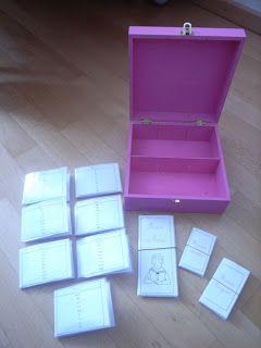 Série rose Montessori Tuto de fabrication du matériel.