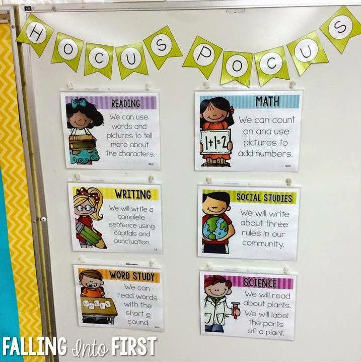 http://www.teacherspayteachers.com/Product/Objectives-Editable-1442064 http://fallingintofirst.blogspot.com/2015/09/objectives-made-easy.html?m=1