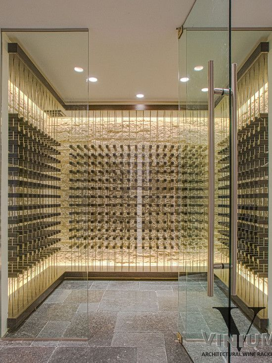 contemporary wine cellar design pictures remodel decor and ideas page 11 - Wine Cellar Design Ideas