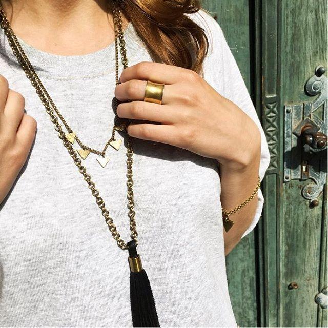#blingbling - Details vom neusten Outfit auf dem Blog! 👗💄✌️ @f_o_l_k_d_a_y_s…