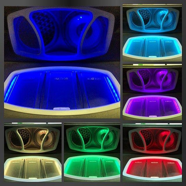 LEDs... I Got all the colours! car audio installer custom