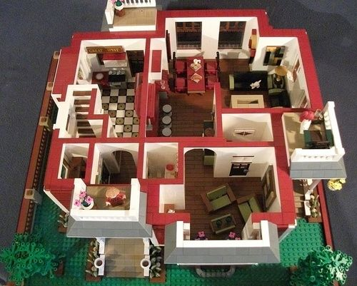 Quot Charmed Quot Victorian Home A Lego 174 Creation By Boise Bro