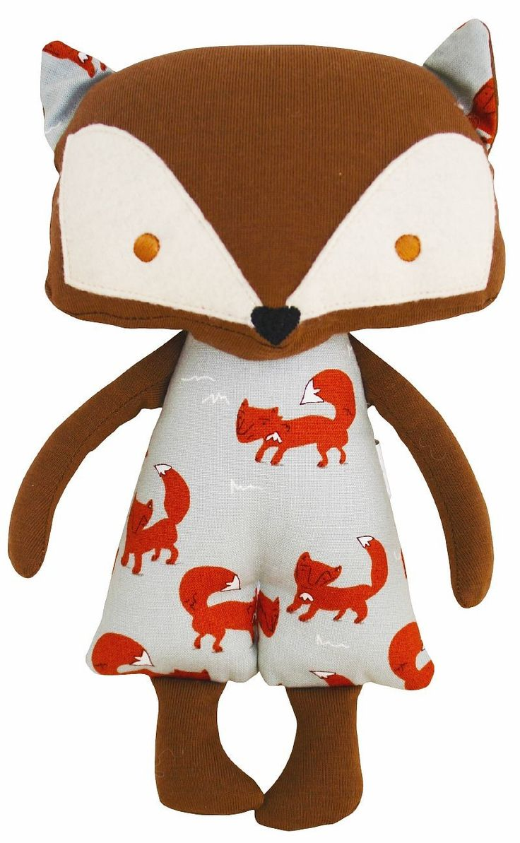 Well hello there Mr Fox!  Divine woodland fox doll by Alimrose Designs - super soft and perfect for cuddles!  Little Boo-Teek - Alimrose Dolls Online | Shop Newborn Baby Gifts Online