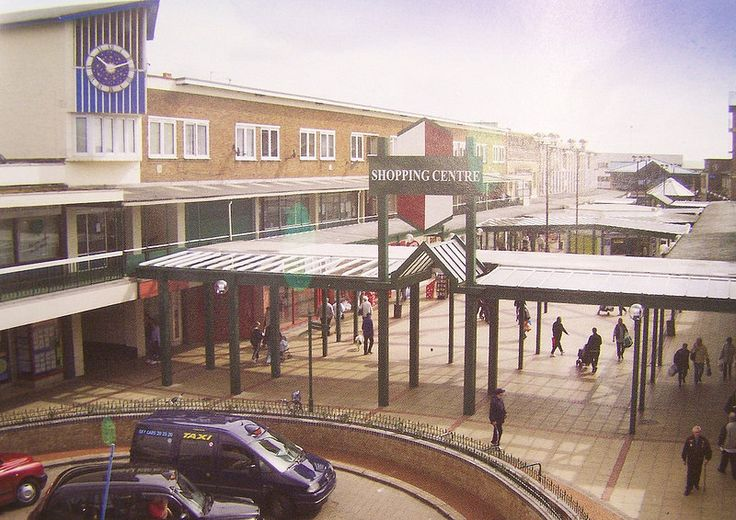 CORBY TOWN CENTRE 1985