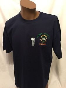 Police CRIME FIGHTIN IRISH Embroidered XL tshirt Law St. Patrick's Day New NWT  | eBay